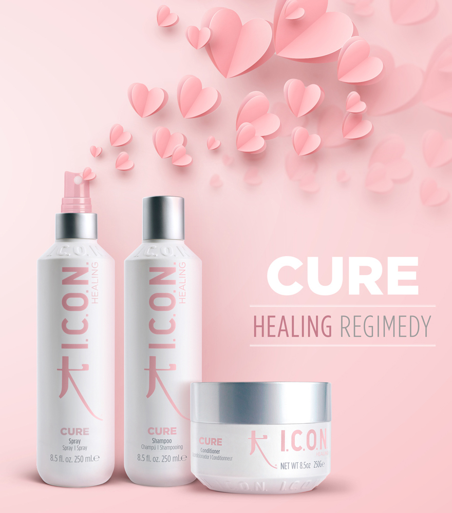 Healing and detangling hair products
