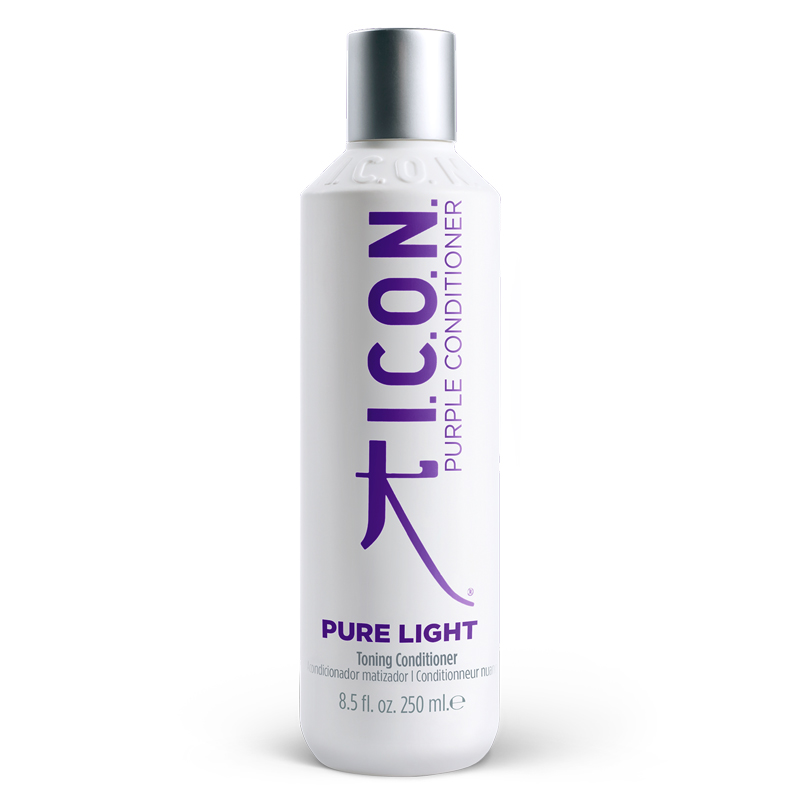 Toning conditioner for coloured hair
